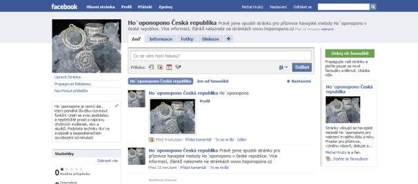 Ho´oponopono na Facebooku